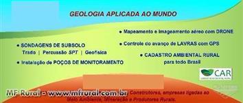 SONDAGENS | C.A.R. | POÇOS DE MONITORAMENTO | TOPOGRAFIA