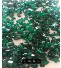 Esmeraldas lapidadas com laudo de avaliação e identificação