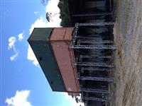 Silo de 150m³ p/  armazenagem de produtos a granel com abertura inferior
