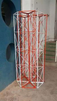Torre estaiada (metro)