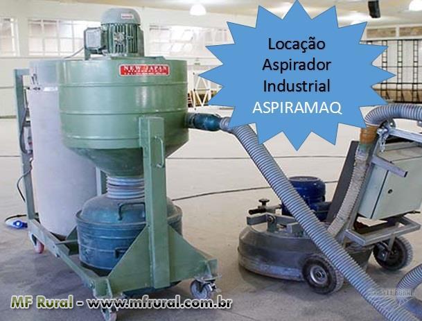 Locação Aspirador, sugador Industrial marca Aspiramaq