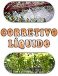 CORRETIVO LÍQUIDO (SUBSTITUI 100% CALCÁRIO EM PÓ) FRETE GRÁTIS