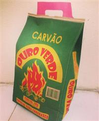 Carvão Vegetal Para churrasco - sacos de 3kg