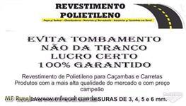 Revestimento / Manta / Forro / Tecnil / borrachão para caçamba de caminhões