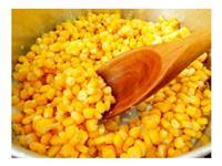 Exportação de milho fresco