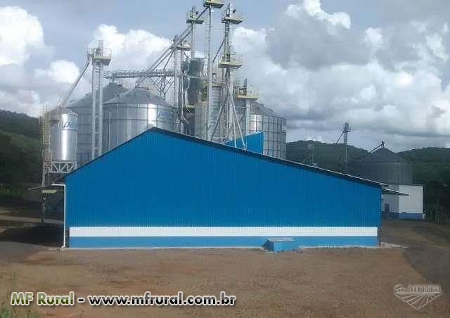Unidade de recebimento de grãos(PROJETO E EXECUÇÃO)