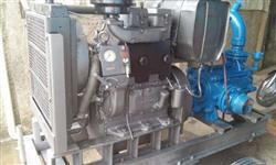 Bomba de irrigaçao ksb com motor yanmar 2 36 cv cilondros muito economico