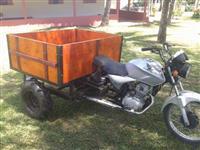 Moto Adubareira, Pulverizador, Carreta e Rodo