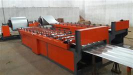 fabricamos maquina perfiladeira de telhas galvanizada galvalume trapézio e ondulada