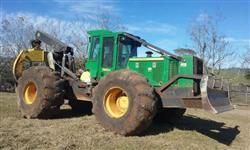 Trator John Deere Skidder 748 H 4x4 ano 14