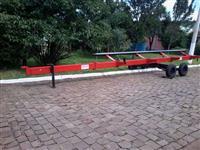 carreto para transporte de plataforma