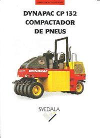 rolo de pneu cp 132 Dynapac