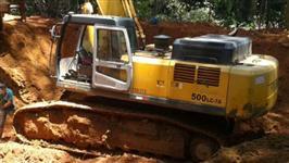 Escavadeira  LC-7A 500    HYUNDAI   Ano 2008    50 toneladas   Toda Revisada  com motor Novo