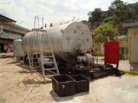 Caldeira 4000 kgv/h com anti-fornalha a lenha
