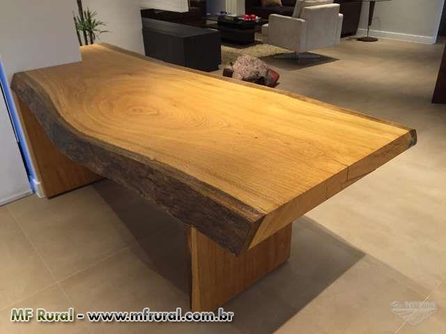 Mesa rustica diversos m veis r sticos mesa rustica mesa de - Mesas de salon rusticas ...