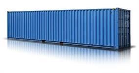 Container 12m X 2,40 - dry - com pintura marítima