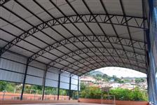 Promoção Cobertura metálica a partir de R$ 95,00m Cobrimos qualquer Orçamento desde que documentado.