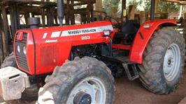 Trator Massey Ferguson 283 Modelo Advanced 4x4 ano 08