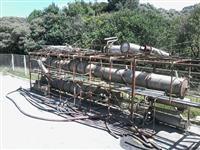 Mini-usina de Etanol e Destilaria-desmontada
