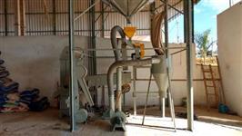 conjunto de pré-limpeza para beneficiamento de milho