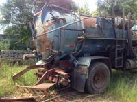 Equipamento Tanque Limpa Fossa c/ Bomba