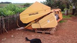 Plataforma soja e trigo TC-55 13 pes New Holland ano 1999 novissima-Particular 43-9986-2552