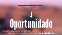 TRANSPORTADORA DE CARGA FECHADA (FTL) ATUANTE SUDESTE-SUL-NORDESTE (OTIMA EMPRESA)