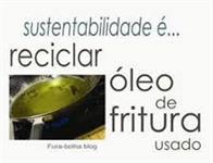 COMPRO ÓLEO VEGETAL USADO - PEQUENAS QUANTIDADES