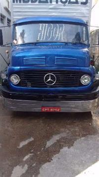 Caminhão Mercedes Benz (MB) 1113 ano 68