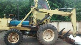 Trator Carregadeiras Ford 6630  implemento moto cana super 2000 4x4 ano 98