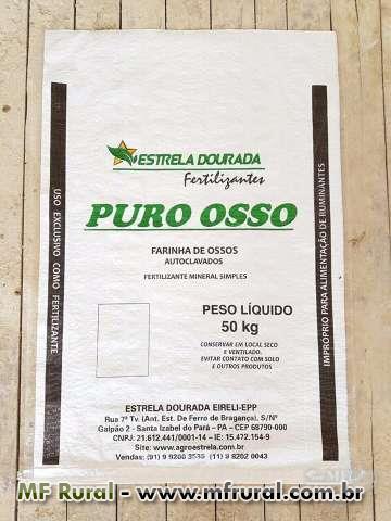 FARINHA DE OSSOS AUTOCLAVADOS