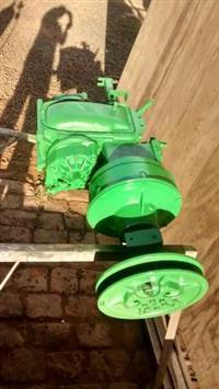 caixa de transmissão embreagem e diferencial  colheitadeira jonh deere slc 6200,7100,7200