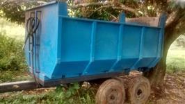 Vendo carreta agrícula basculante hidráulica
