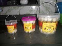 Conservas de ovos de codorna mista