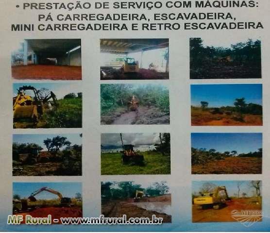 Administro serviços com maquinas ou presto serviço em sua fazenda