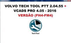 Volvo Premium Tech Tool 2.04.55 + VCADS Pro 4.05 - Versão 2016 (FH4-FM4)