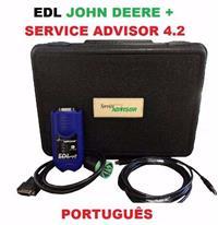 KIT SCANNER JOHN DEERE EDL ORIGINAL + SERVICE ADIVISOR 4.2 (FEVEREIRO 2016)