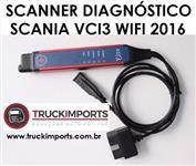 Scania Diagnóstico Vci3 Wifi + Chave De Licença Usb V.2016 + SDP3 2.27 + XCOM