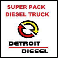 Detroit Diesel Truck Full Pack Ddct + dddl + ddre + ddrs + ddsm