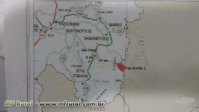 Fazenda  R$ 1.300,00 o Hectare
