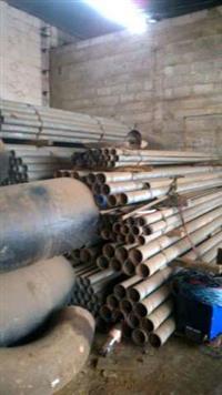 Tubos din 2440 de 2 1/2 galvanizados barras com 3mts