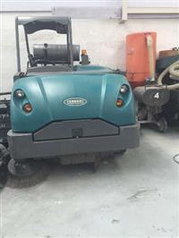 Varredeira de Pisos Dirigível ALFA S30, à gás operador a bardo