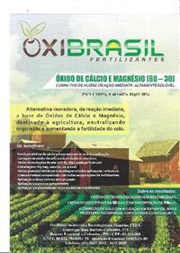 CALCARIO / OXIDO DE CALCIO / CORRETIVO DE ACIDEZ / CORRETIVO SOLO / PERFIL DE SOLO / NEUTRALIZANTE