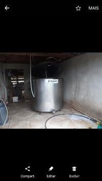 Tanque resfriador 1200 Litros Tropical