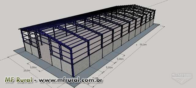 Estruturas Metálicas para Galpões