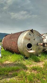 Misturador de inox 316L (sanitário),65 mil litros.