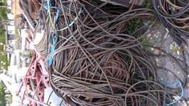 compro sucata de fios e cabos de cobre e aluminio