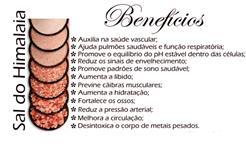 SAL ROSA HIMALAIA 100% NATURAL - MOÍDO - INTEGRAL DIRETO DO PAQUISTÃO