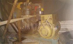 Gerador 132LA 35/01 10kva trifasico, Motor M93 AGRALE diesel