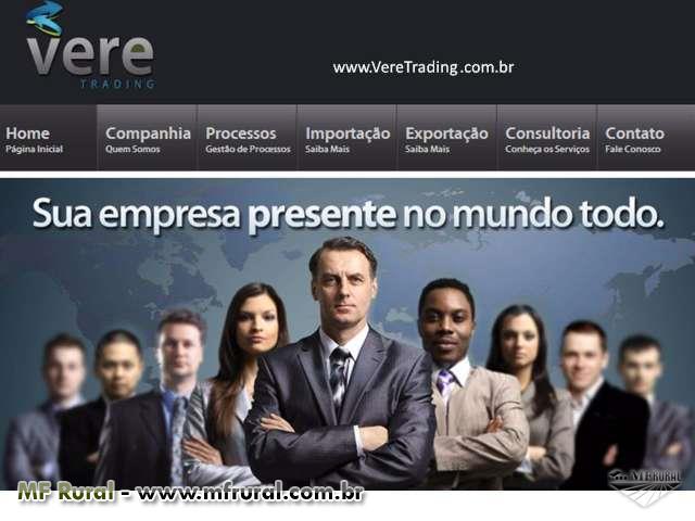 Exportação ou Importação Direta do Produtor ao Comprador Final, Contrate a Vere Trading e